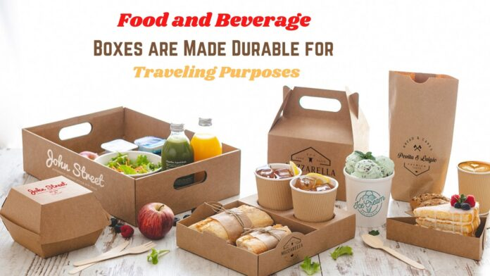 Food and Beverage Boxes