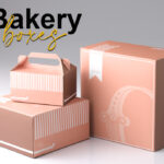 Printed bakery Boxes